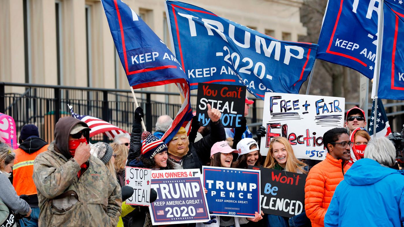 Michigan Trump Supporters