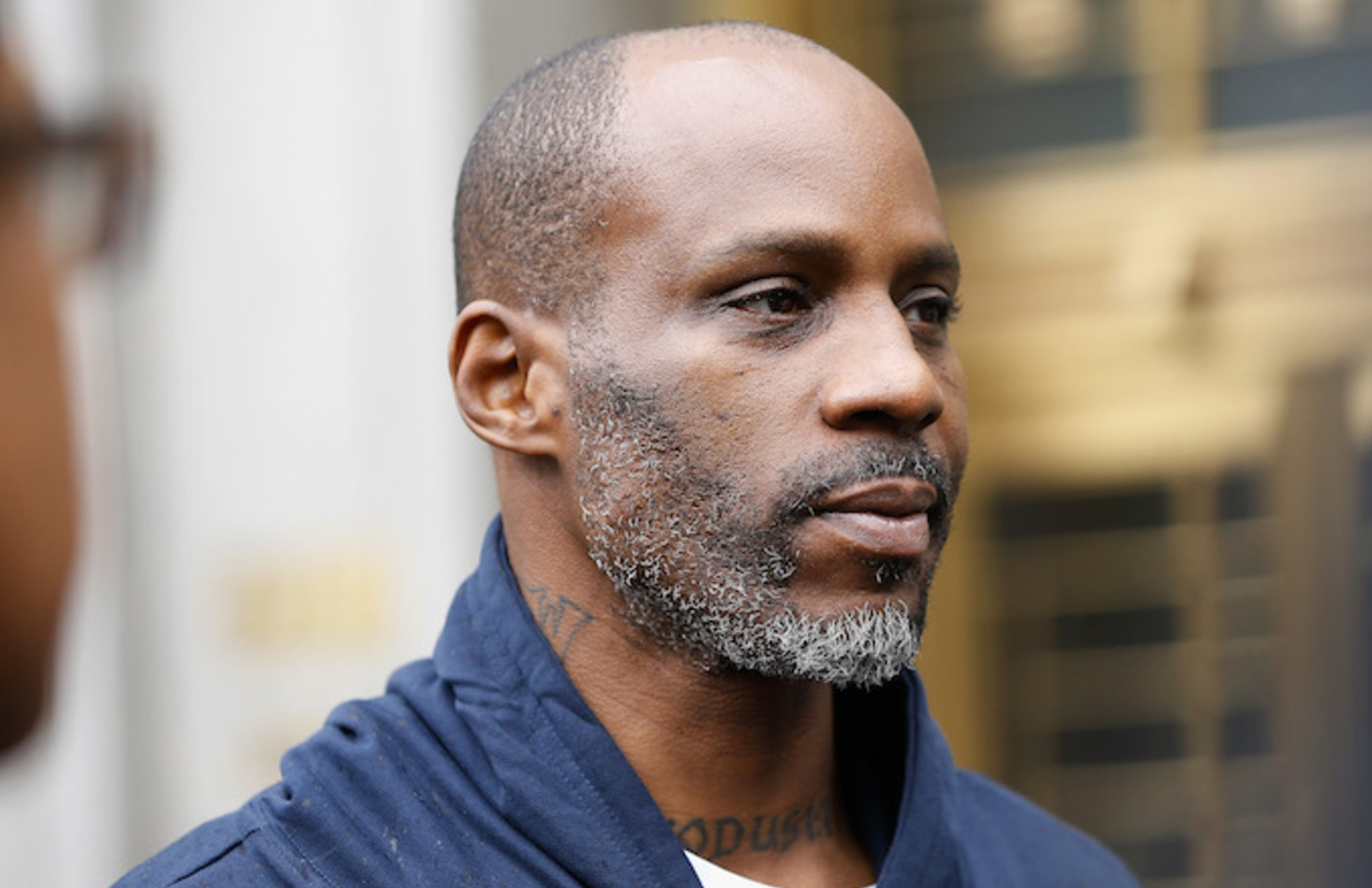 Rapper DMX is arraigned in court after tax evasion charges.