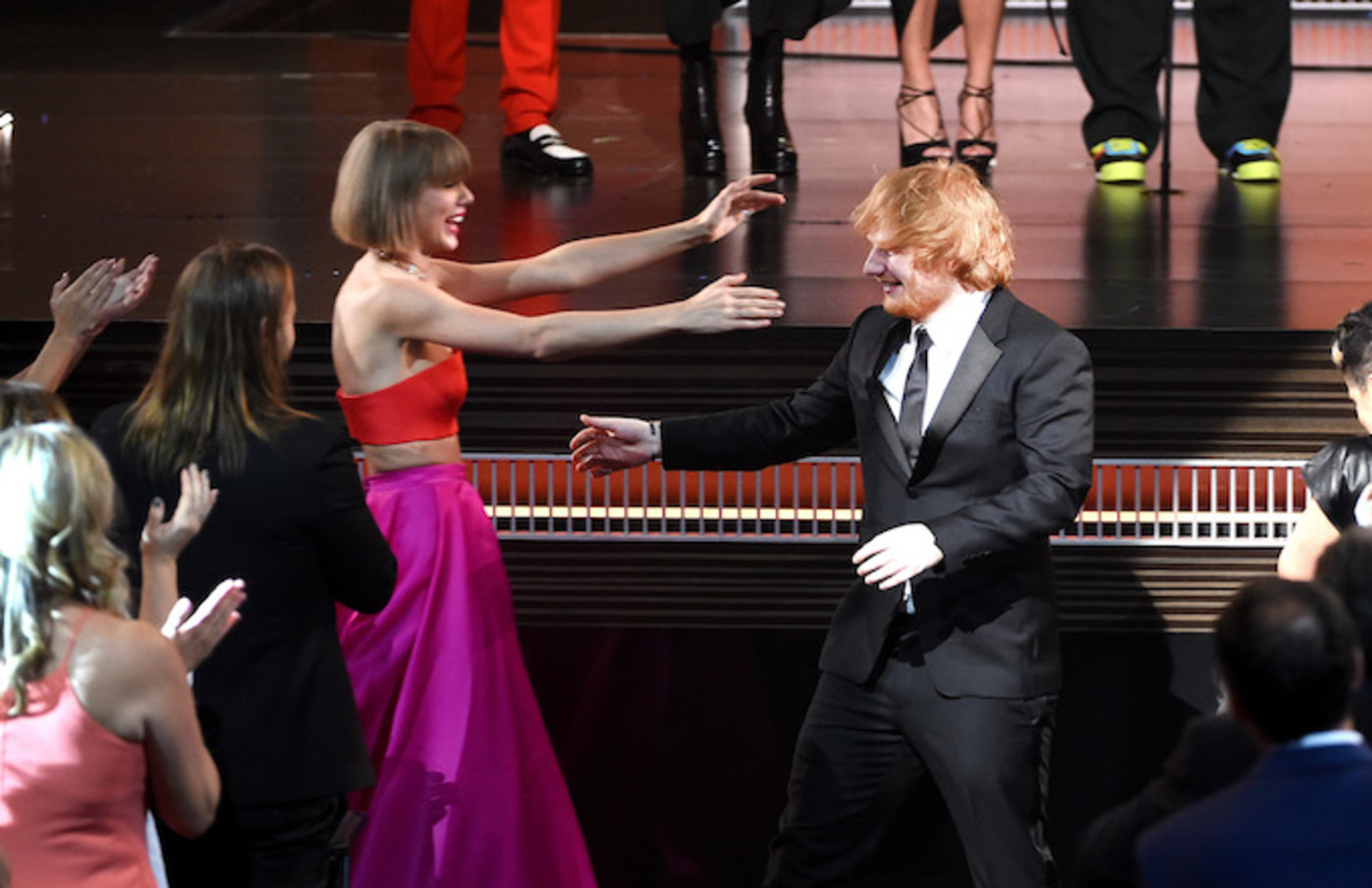 Ed Sheeran Wants You To Know Taylor Swift Was Not Talking About Him On Dress Complex