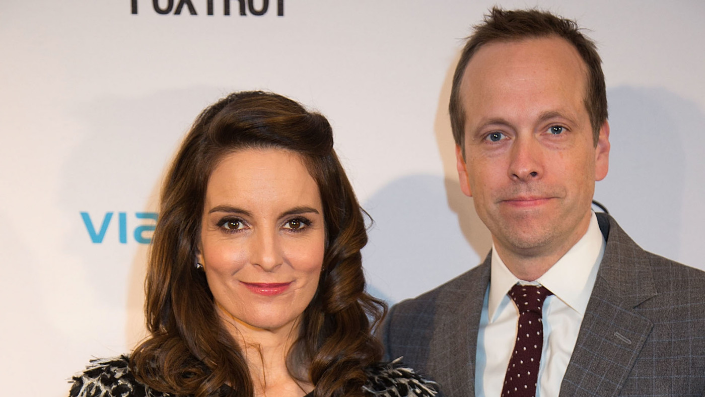 "Tina Fey and Robert Carlock attend the ""Whiskey Tango Foxtrot"" Screening."