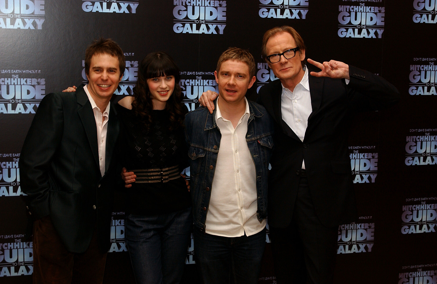 Hitchhiker's Guide to the Galaxy cast