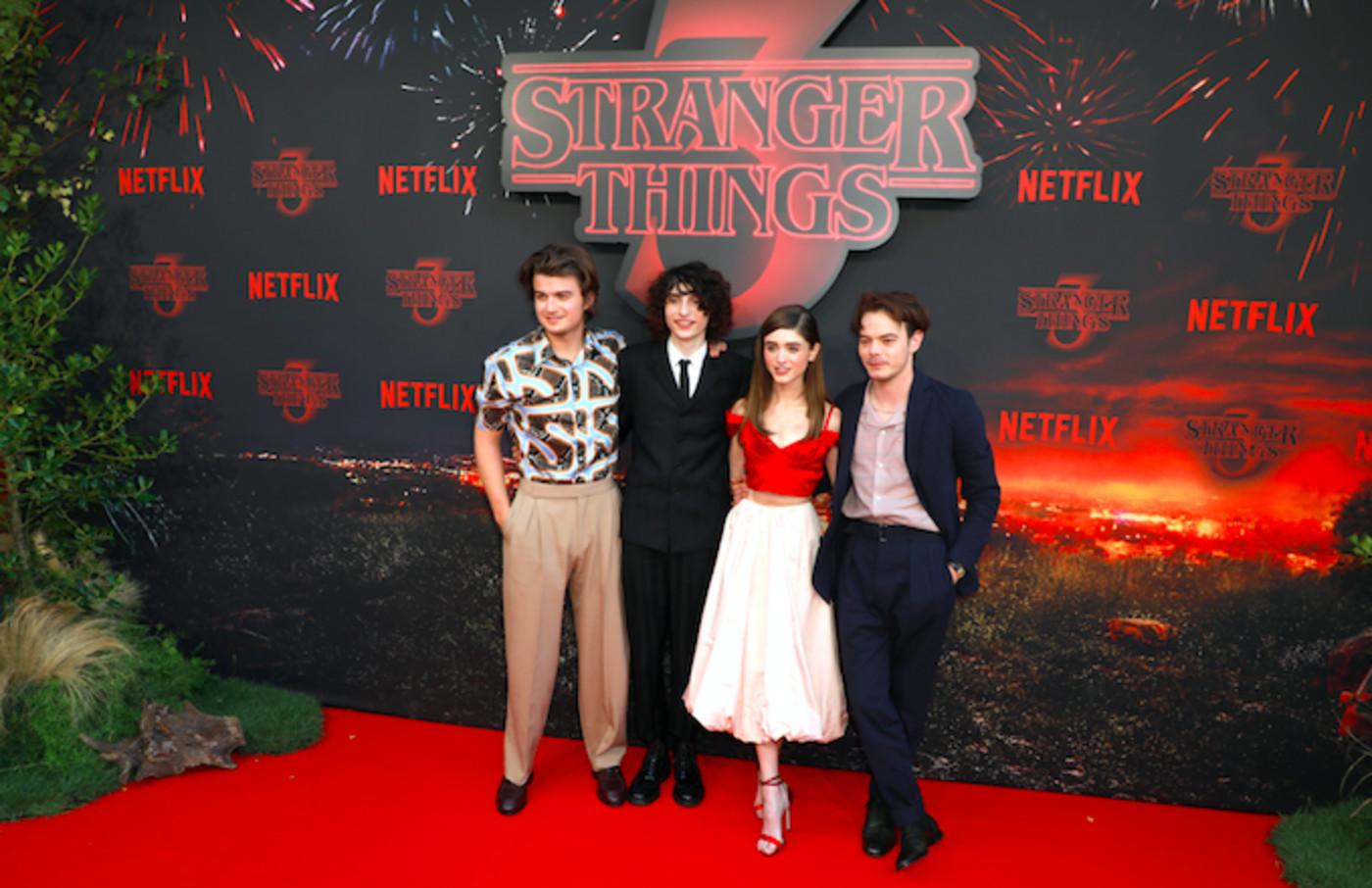 'Stranger Things' cast