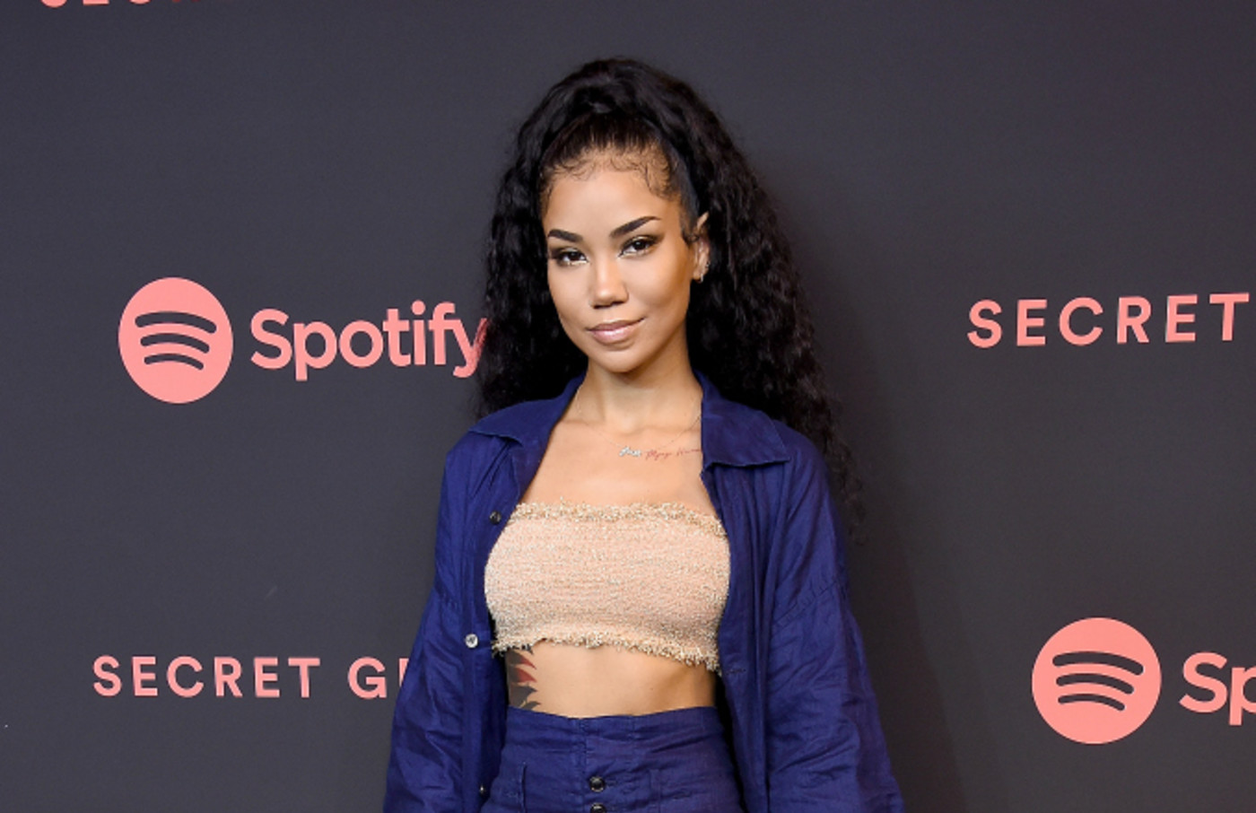Jhene Aiko arrives at Spotify's 2nd Annual Secret Genius Awards