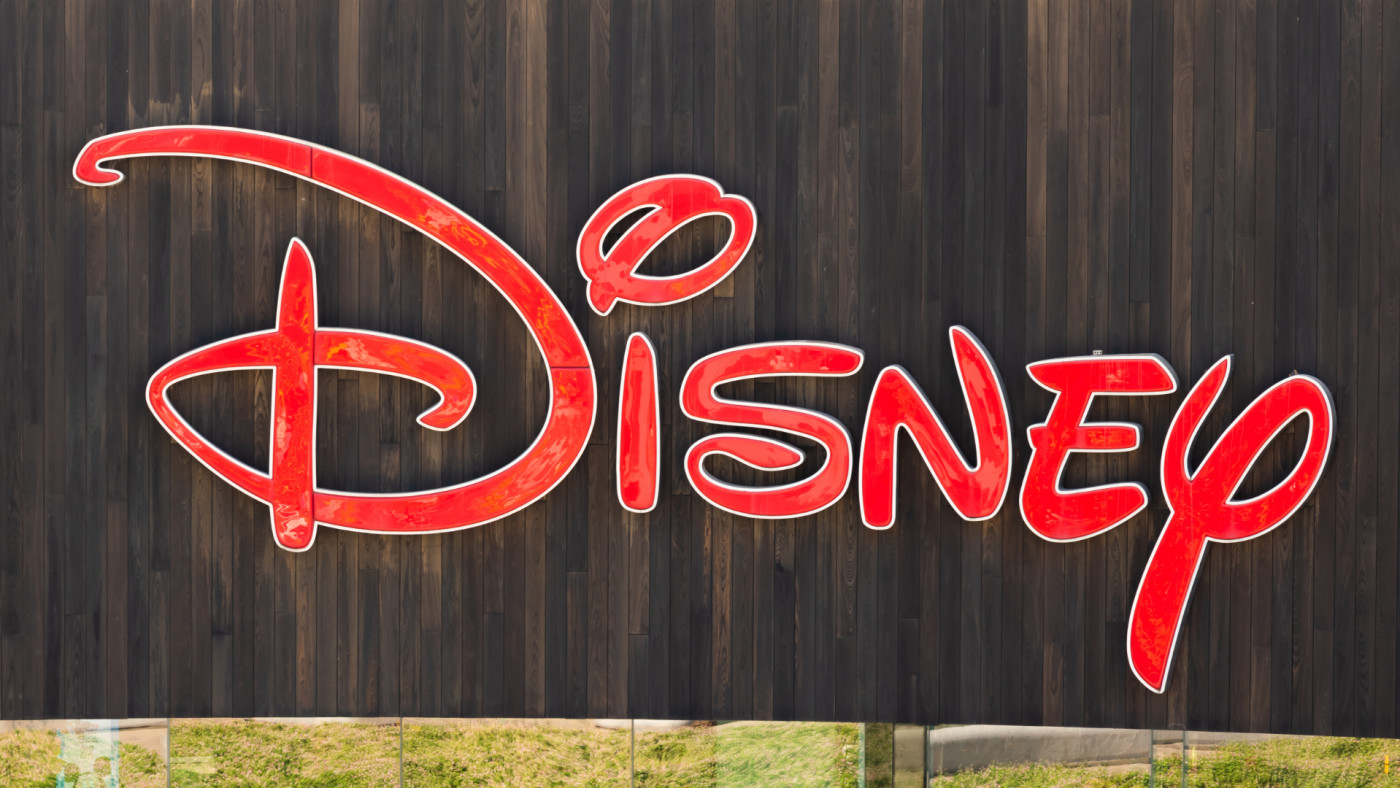 The Walt Disney Company logo seen in Shanghai.