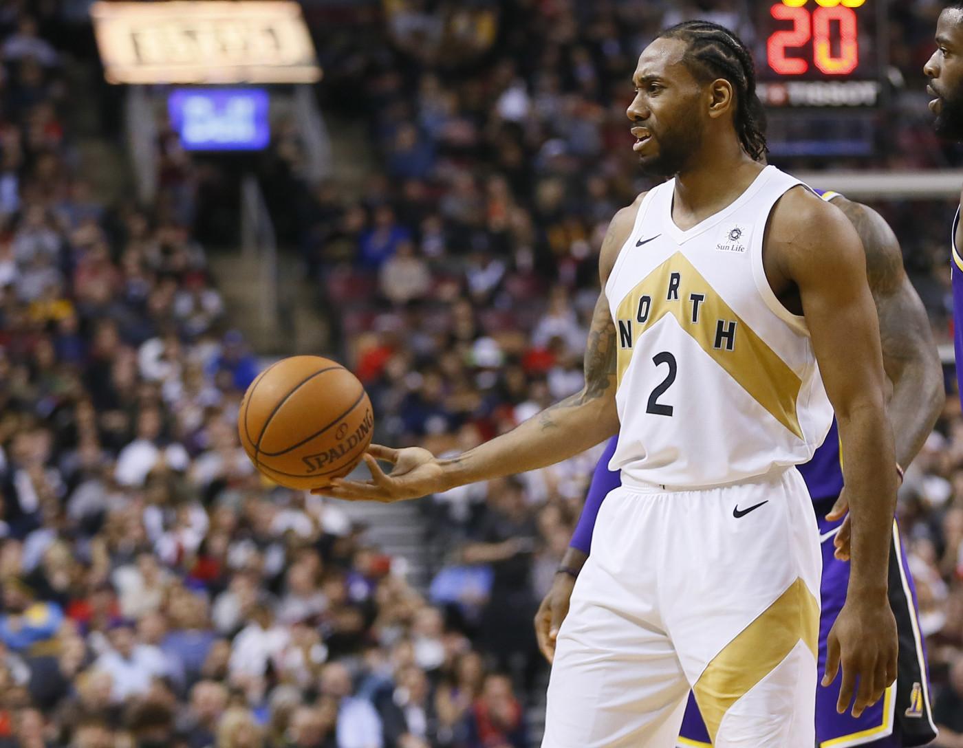 Kawhi Leonard Raptors Lakers 2019 1