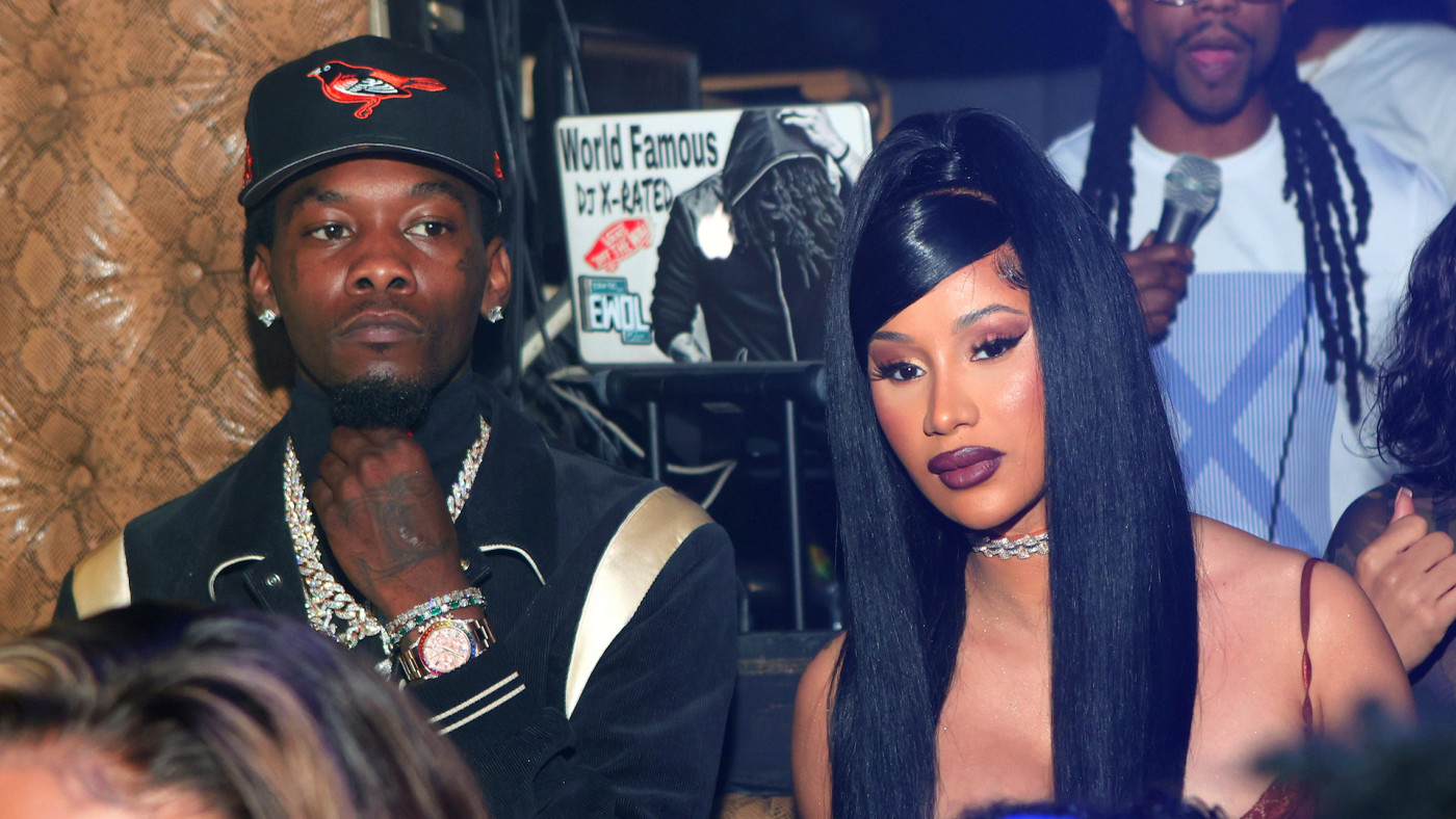 Offset of Migos and Cardi B attend Allure Monday Nights