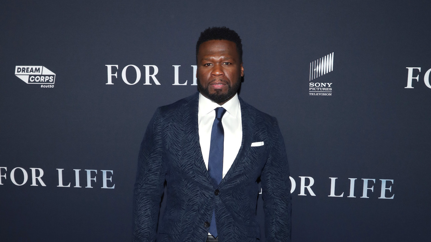 "Curtis ""50 Cent"" Jackson attends ABC's ""For Life"" New York Premiere"