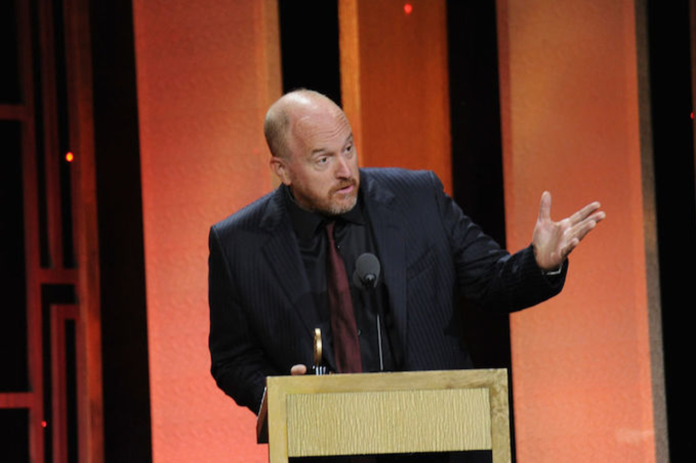 This is a picture of Louis CK.