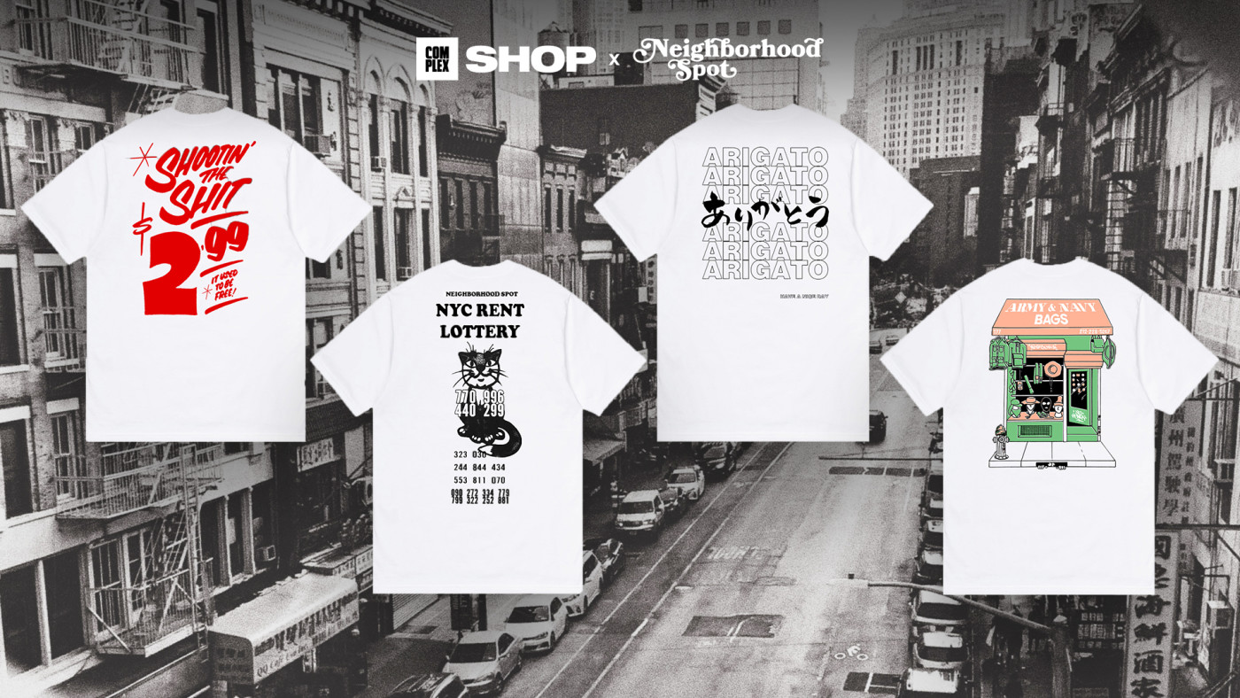 Complex Shop Neighborhood Spot T-Shirt Capsule