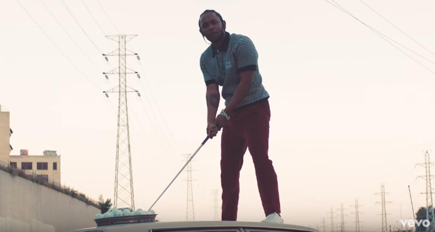 Kendrick Lamar Humble golf