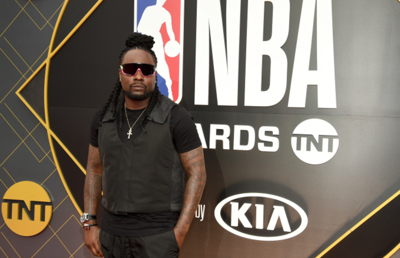 Wale attends the 2019 NBA Awards presented by Kia on TNT