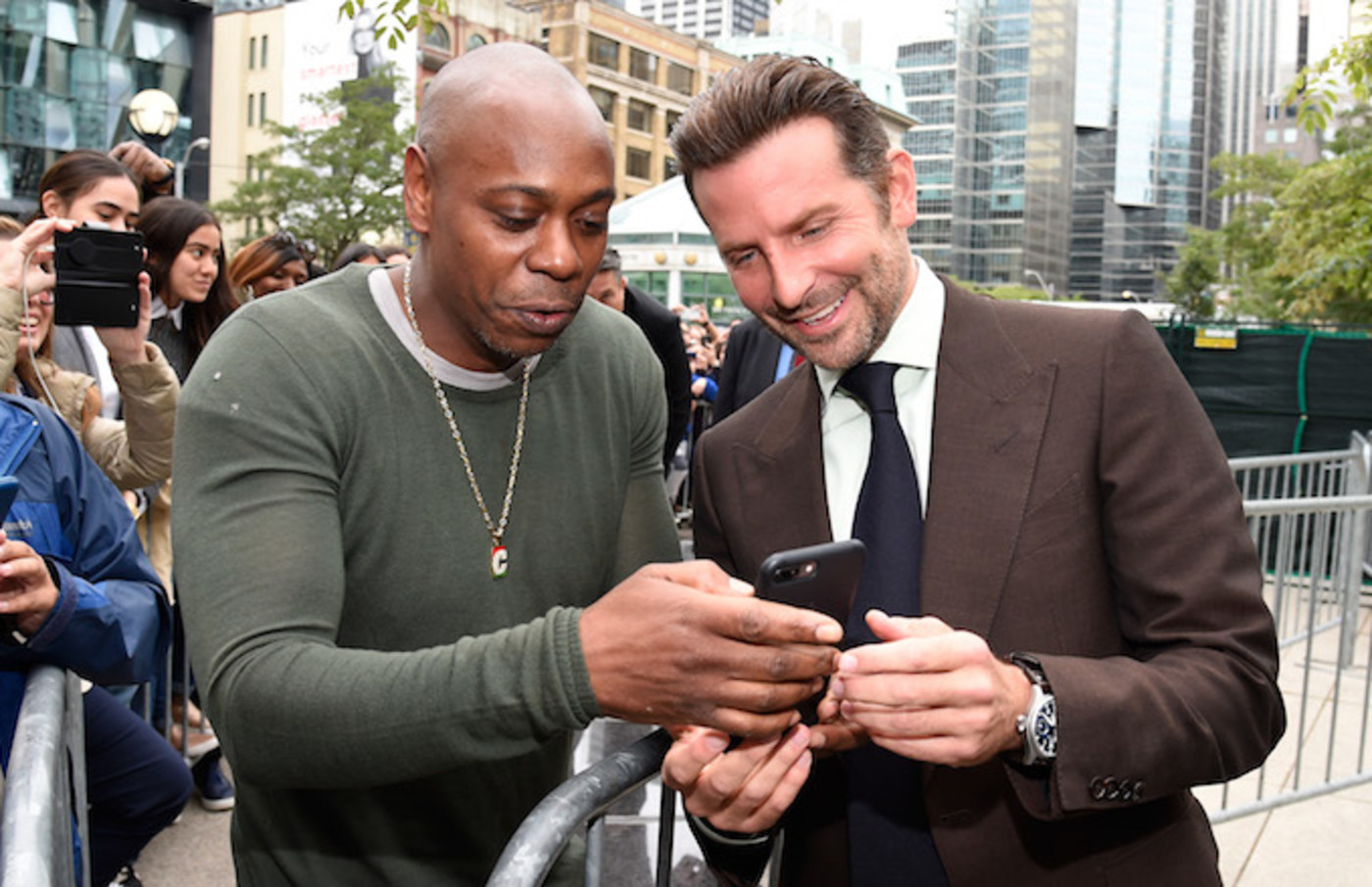 dave chappelle shares how bradley cooper got him for a star is born complex dave chappelle shares how bradley