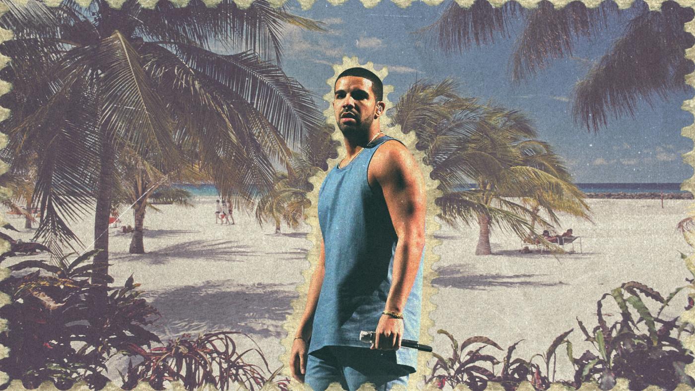 Drake in Barbados