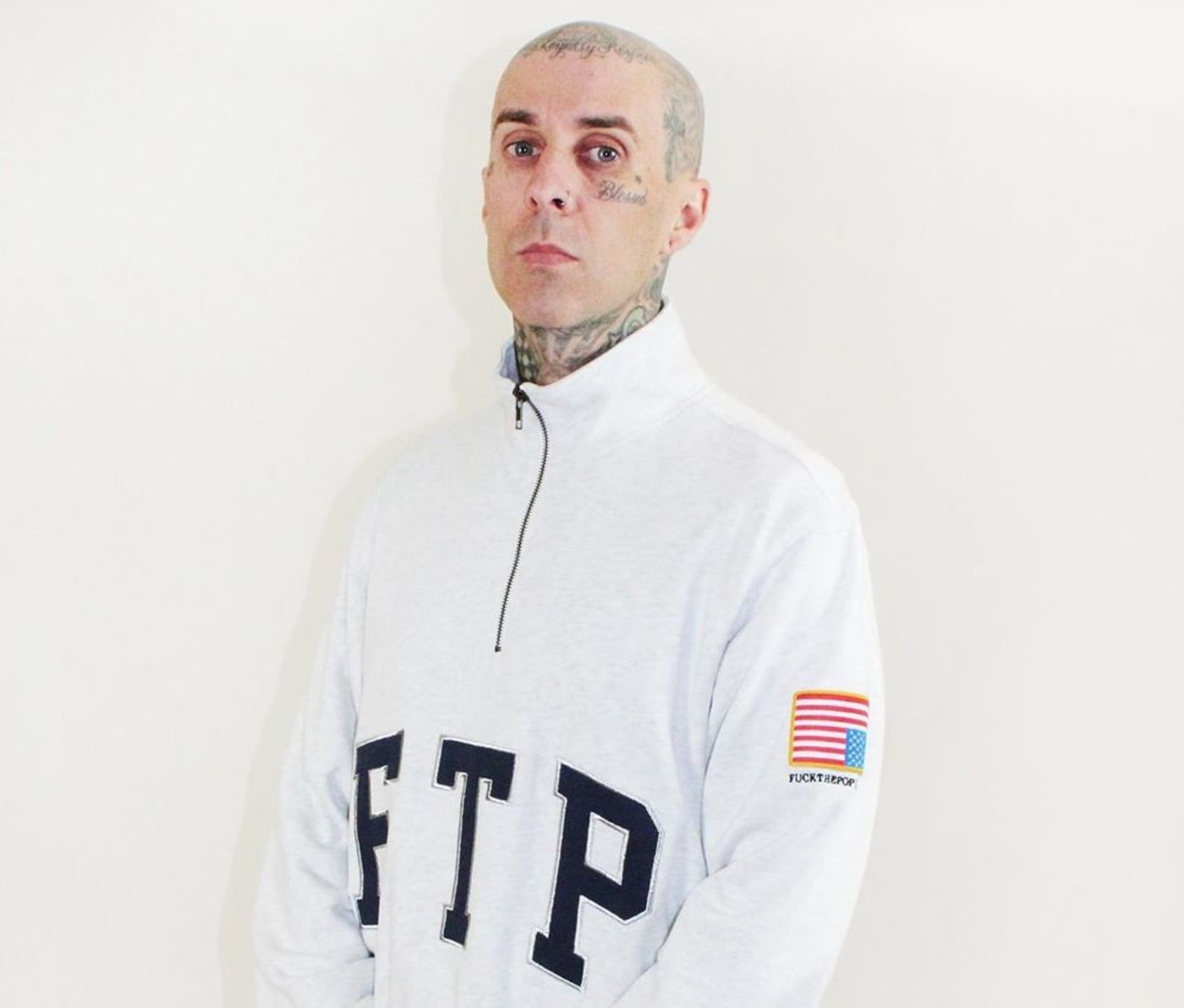 Travis Barker Wearing FTP