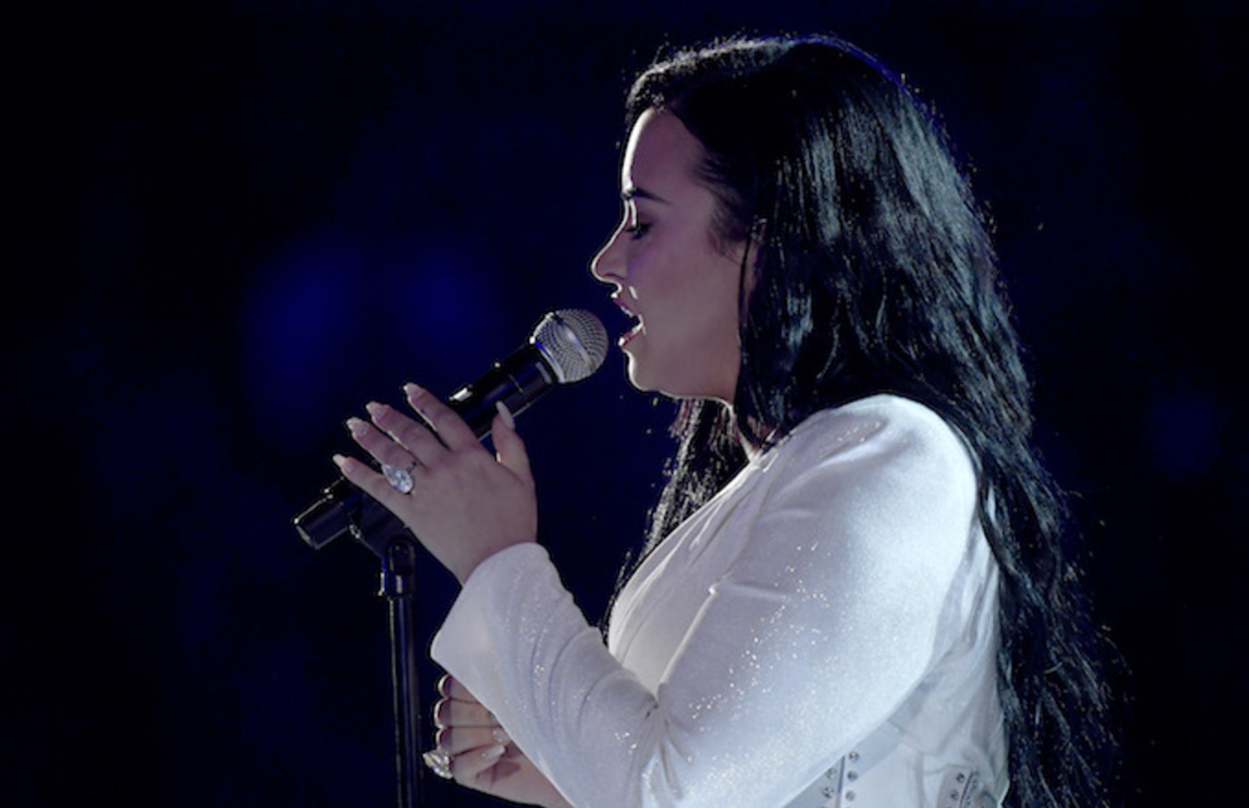 Demi Lovato performs onstage during the 62nd Annual GRAMMY Awards.