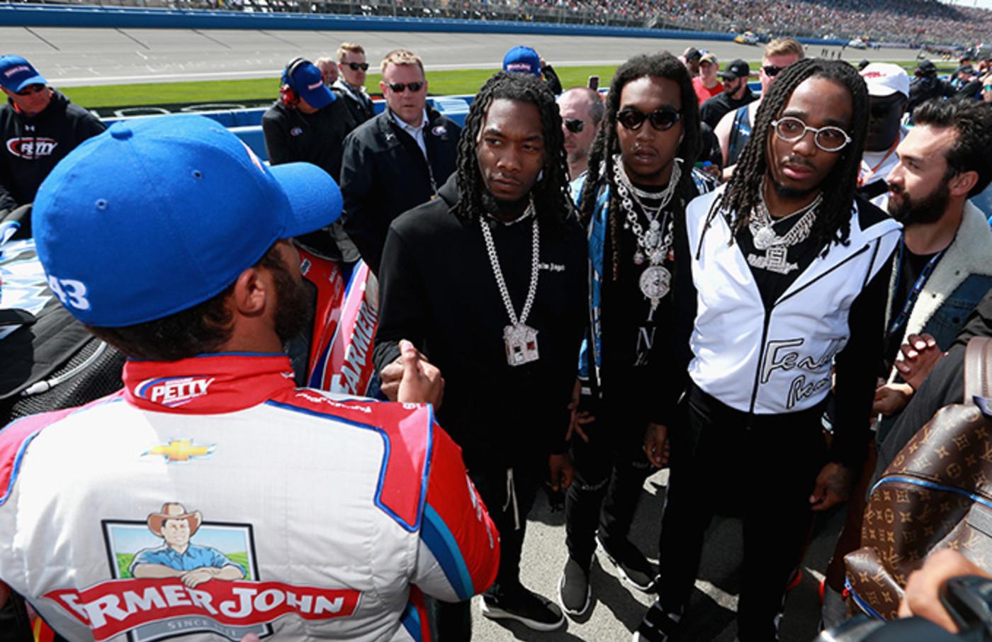 Migos at NASCAR