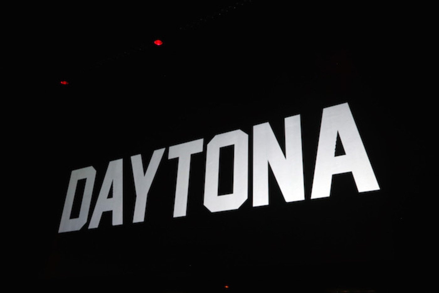 Daytona party sign