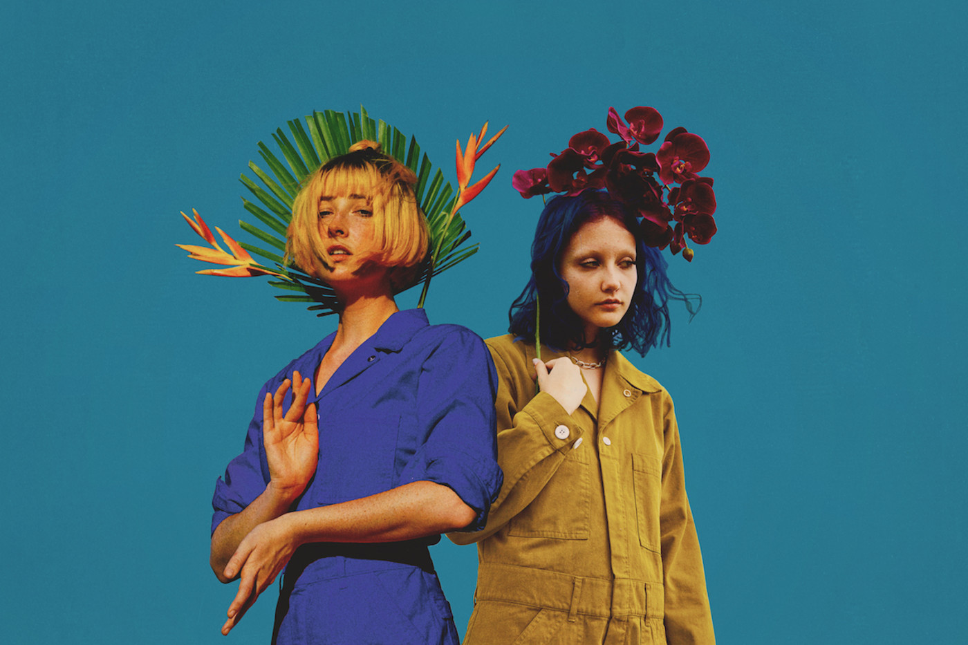 Tessa Violet & Chloe Moriondo (credit: Brian Gahan & Rose Hohl)