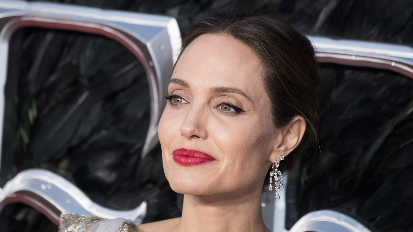 "Angelina Jolie attends the European premiere of ""Maleficent: Mistress of Evil"""
