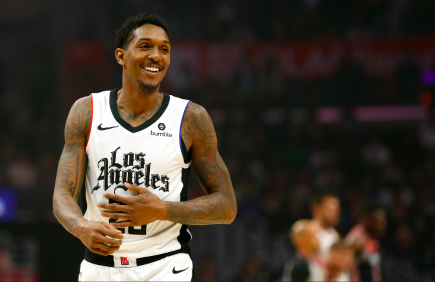 Lou Williams #23 of the Los Angeles Clippers