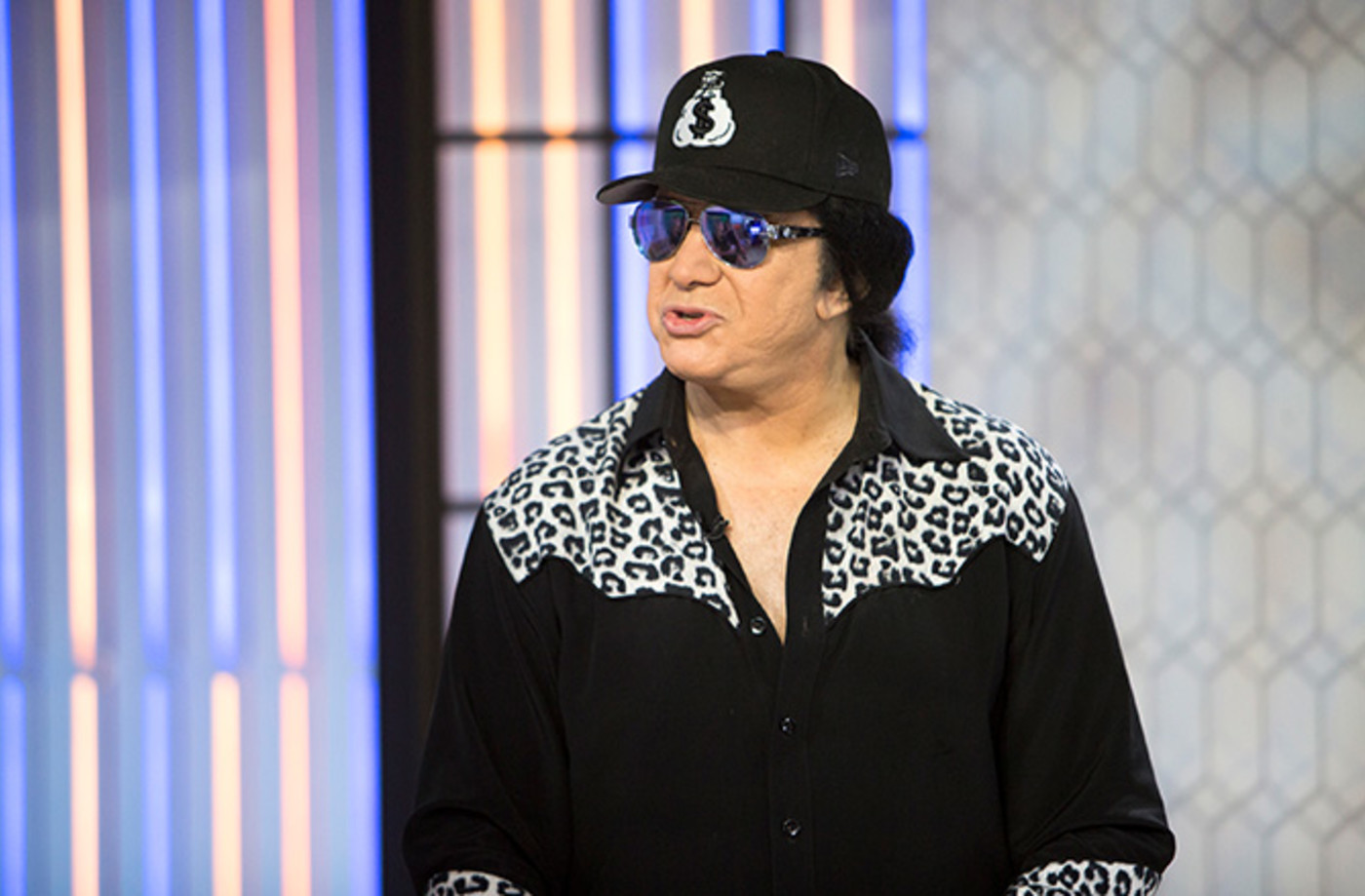 This is a photo of Gene Simmons.