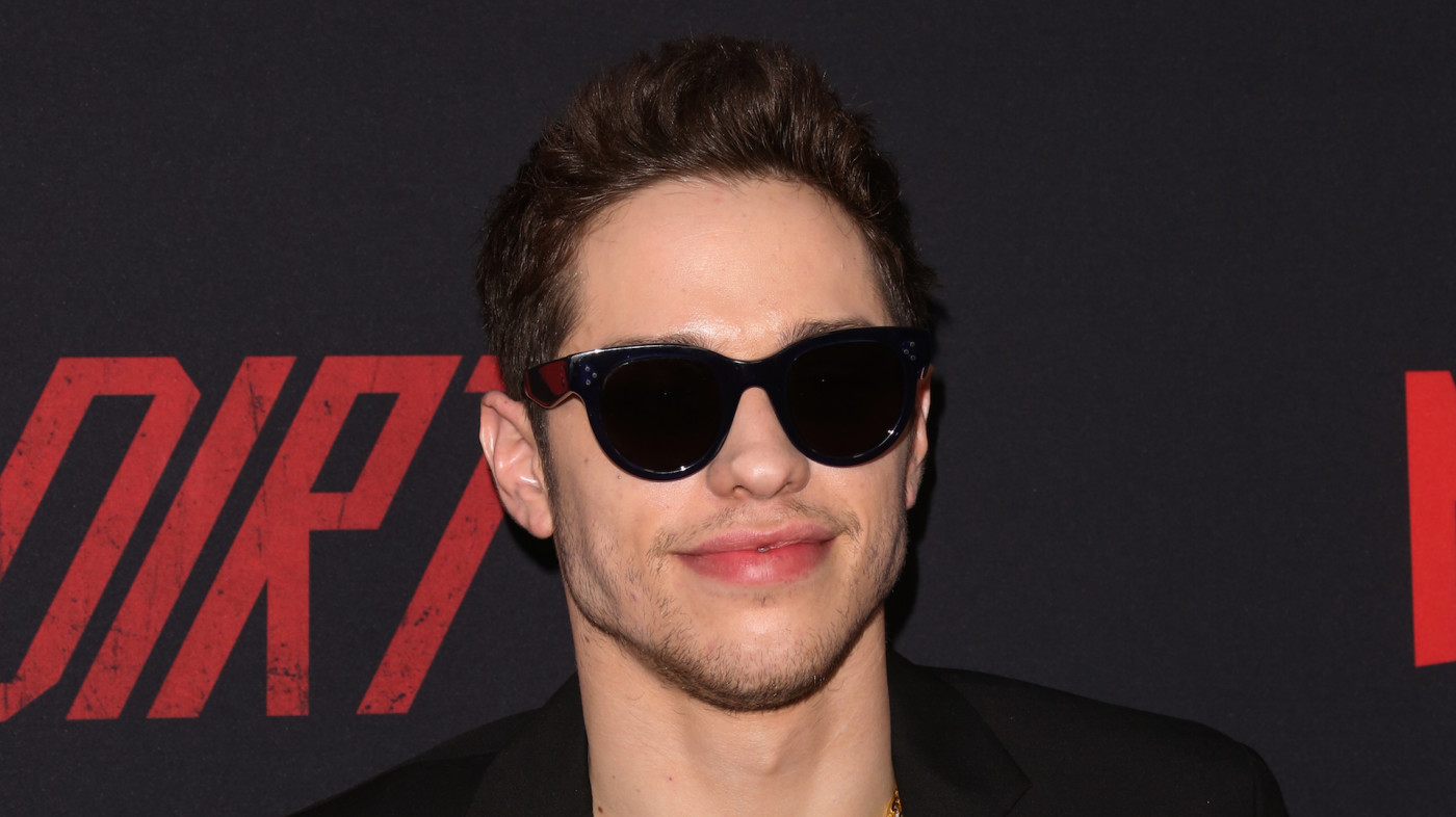 "Actor Pete Davidson attends the Premiere Of Netflix's ""The Dirt"""