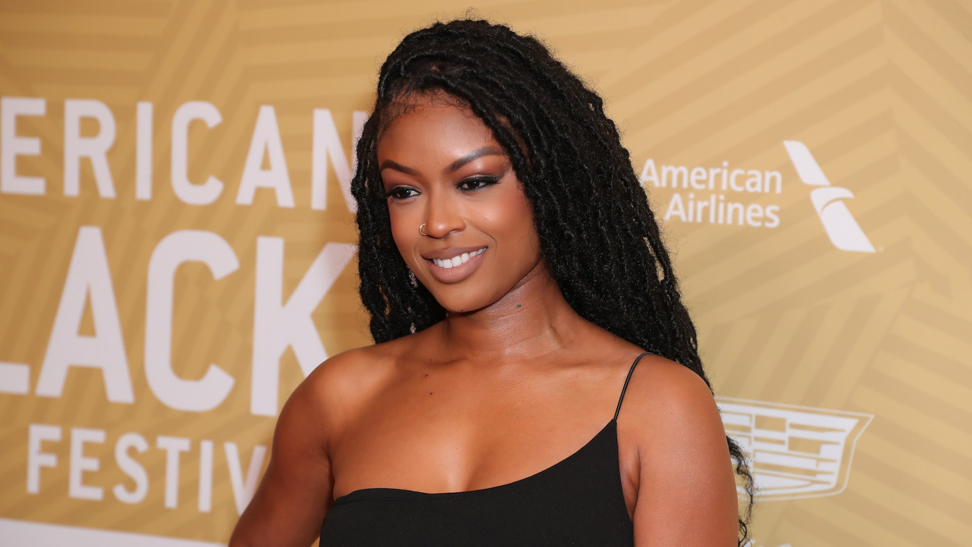 Javicia Leslie attends American Black Film Festival Honors Awards Ceremony.