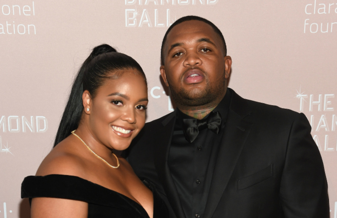 Dj Mustard and Chanel Thierry at Diamond Ball