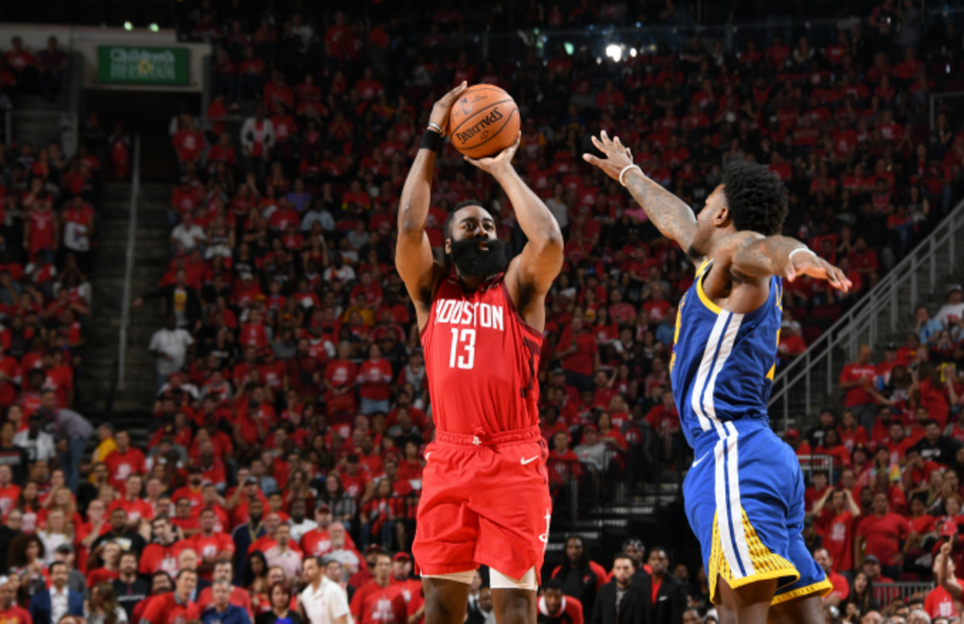 James Harden #13 of the Houston Rockets