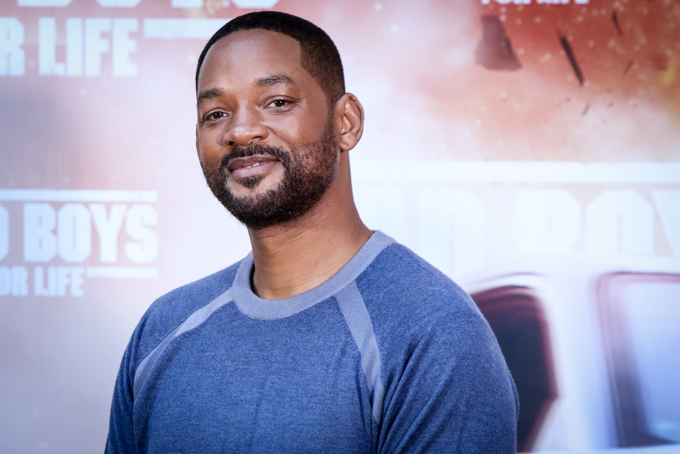 Will Smith attends 'Bad Boys For Life' photocall