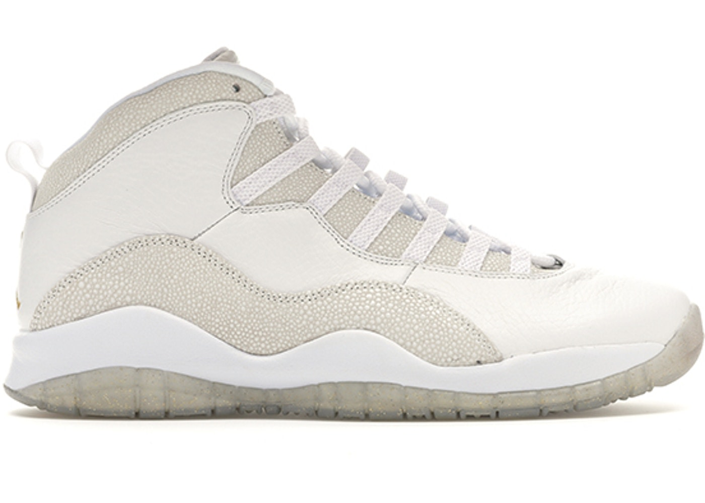 Air Jordan 10 White OVO