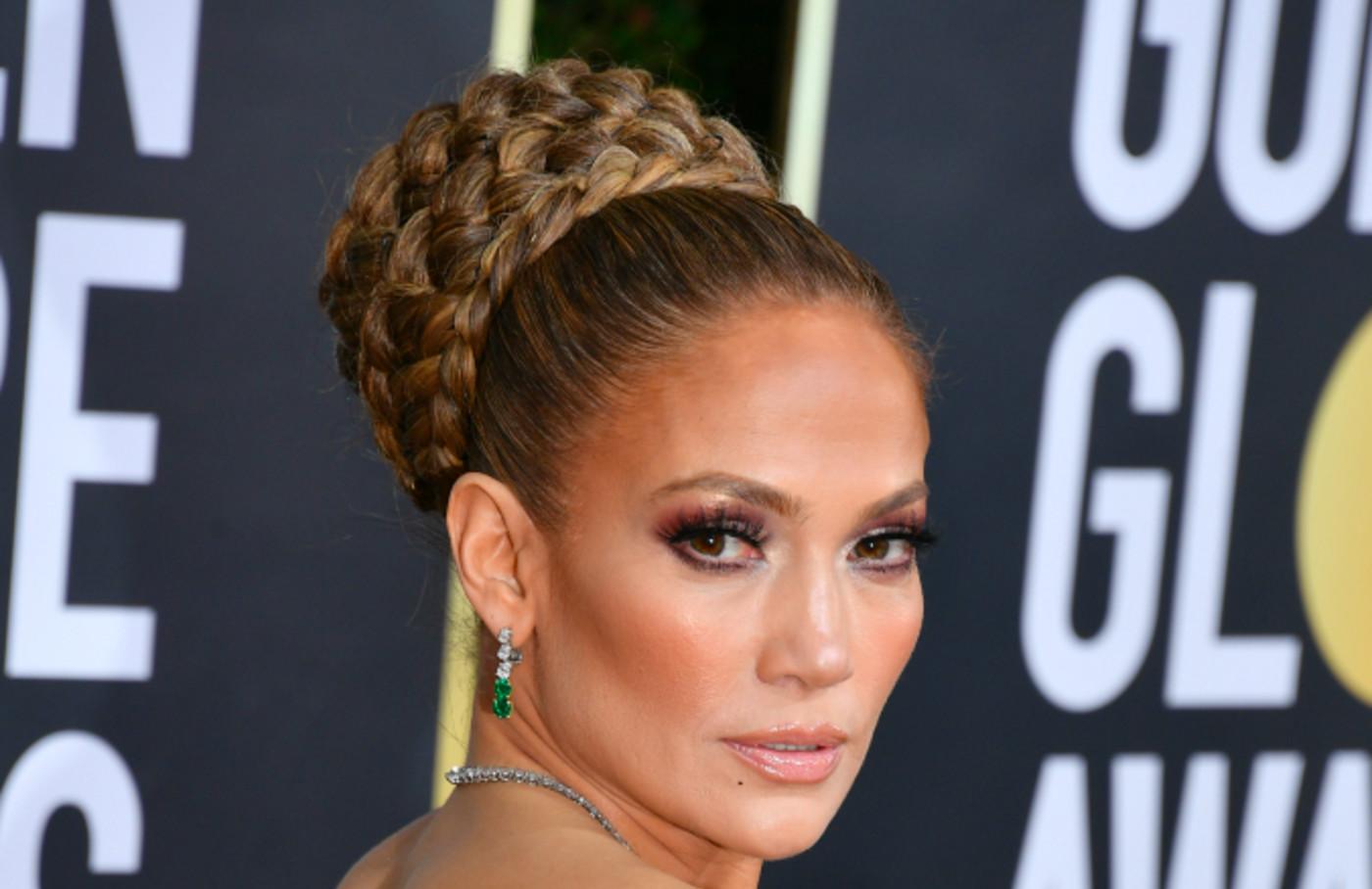 Jennifer Lopez attends the 77th Annual Golden Globe Awards