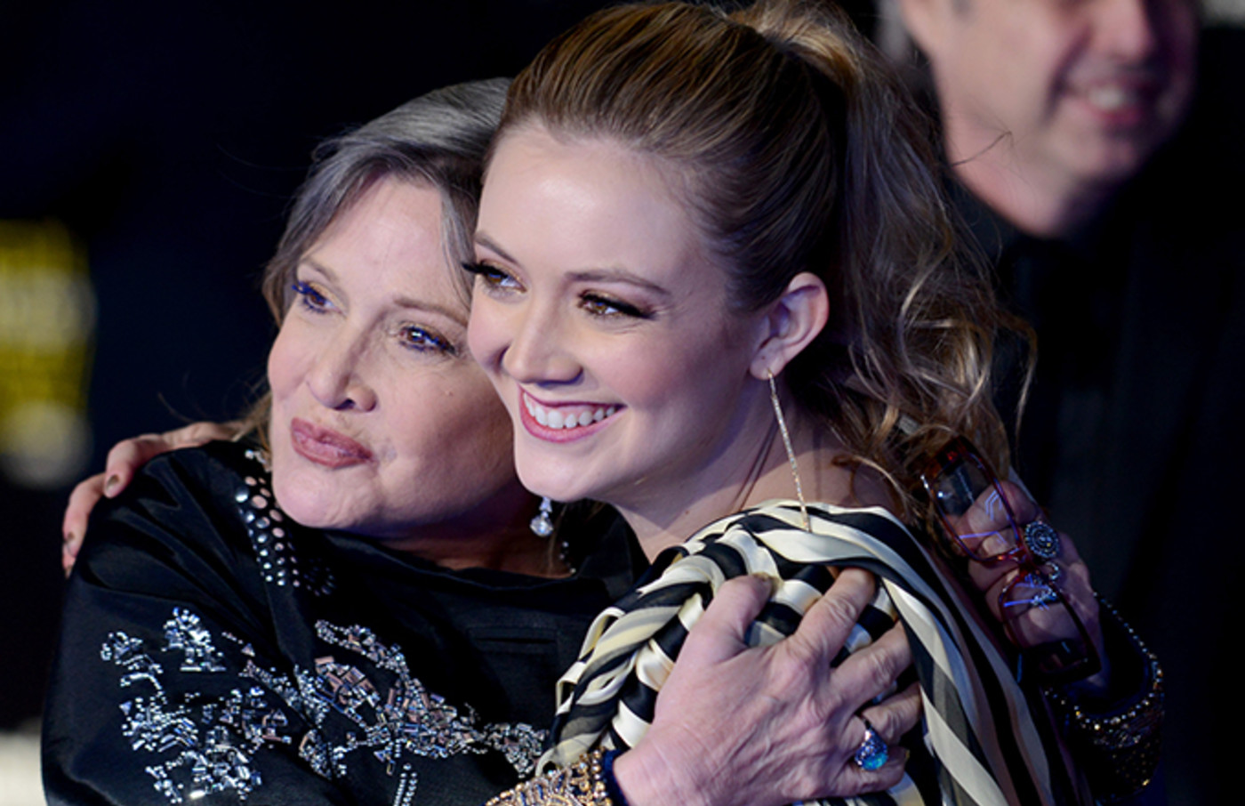 Carrie Fisher S Daughter Billie Lourd Played Her Stand In For The Rise Of Skywalker Complex