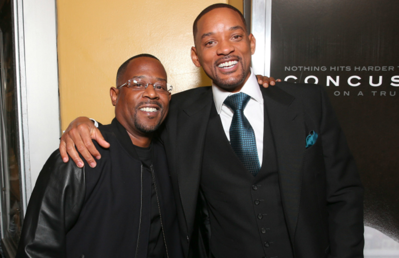"""Martin Lawrence and Will Smith attend a screening Of Columbia Pictures' """"Concussion"""""""