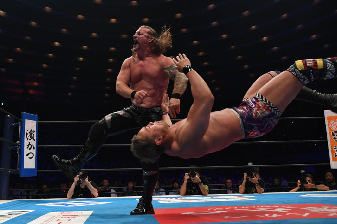 Chris Jericho Okada Osaka Japan 2019