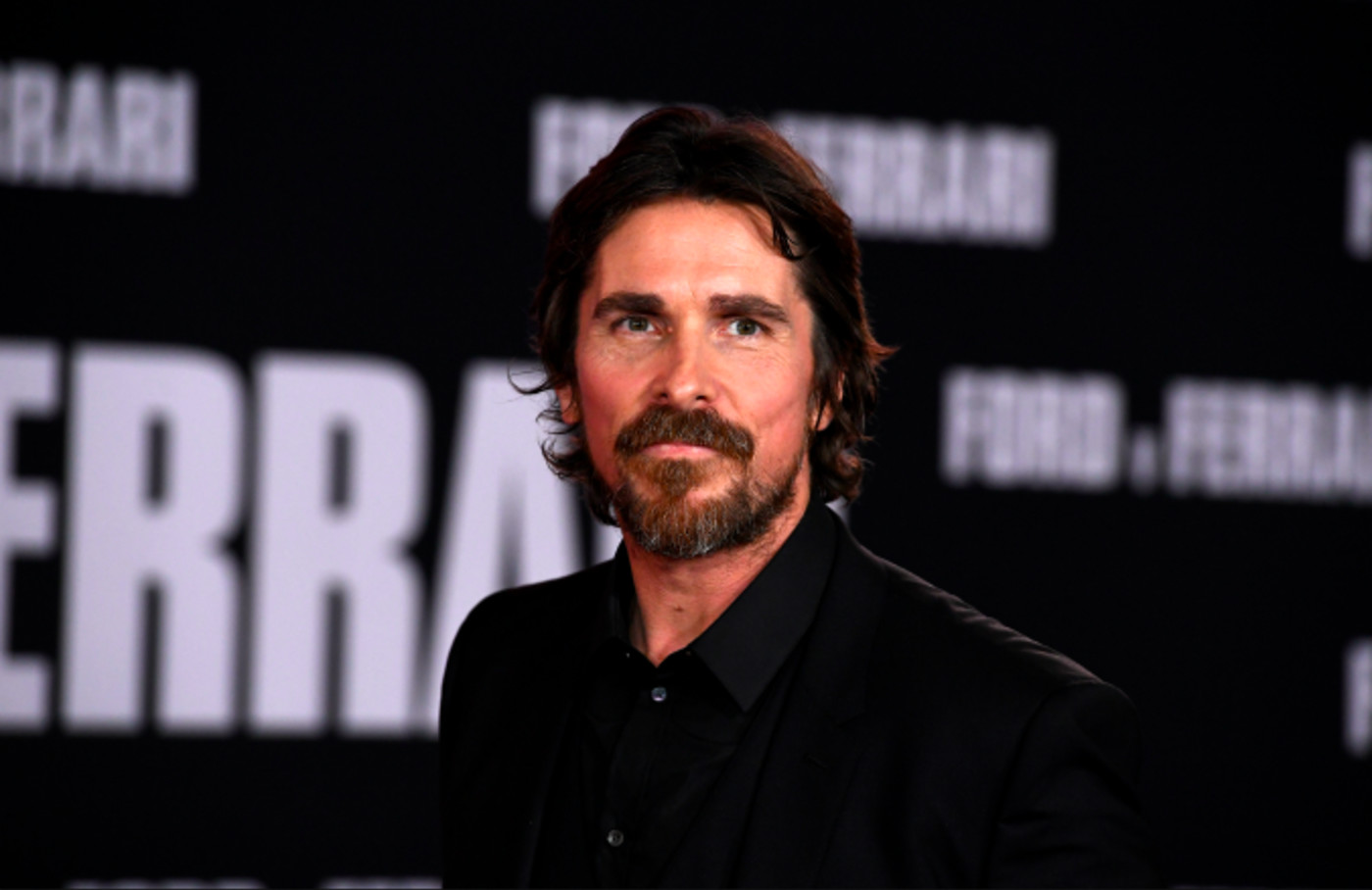 "Christian Bale attends the Premiere Of FOX's ""Ford V Ferrari"""