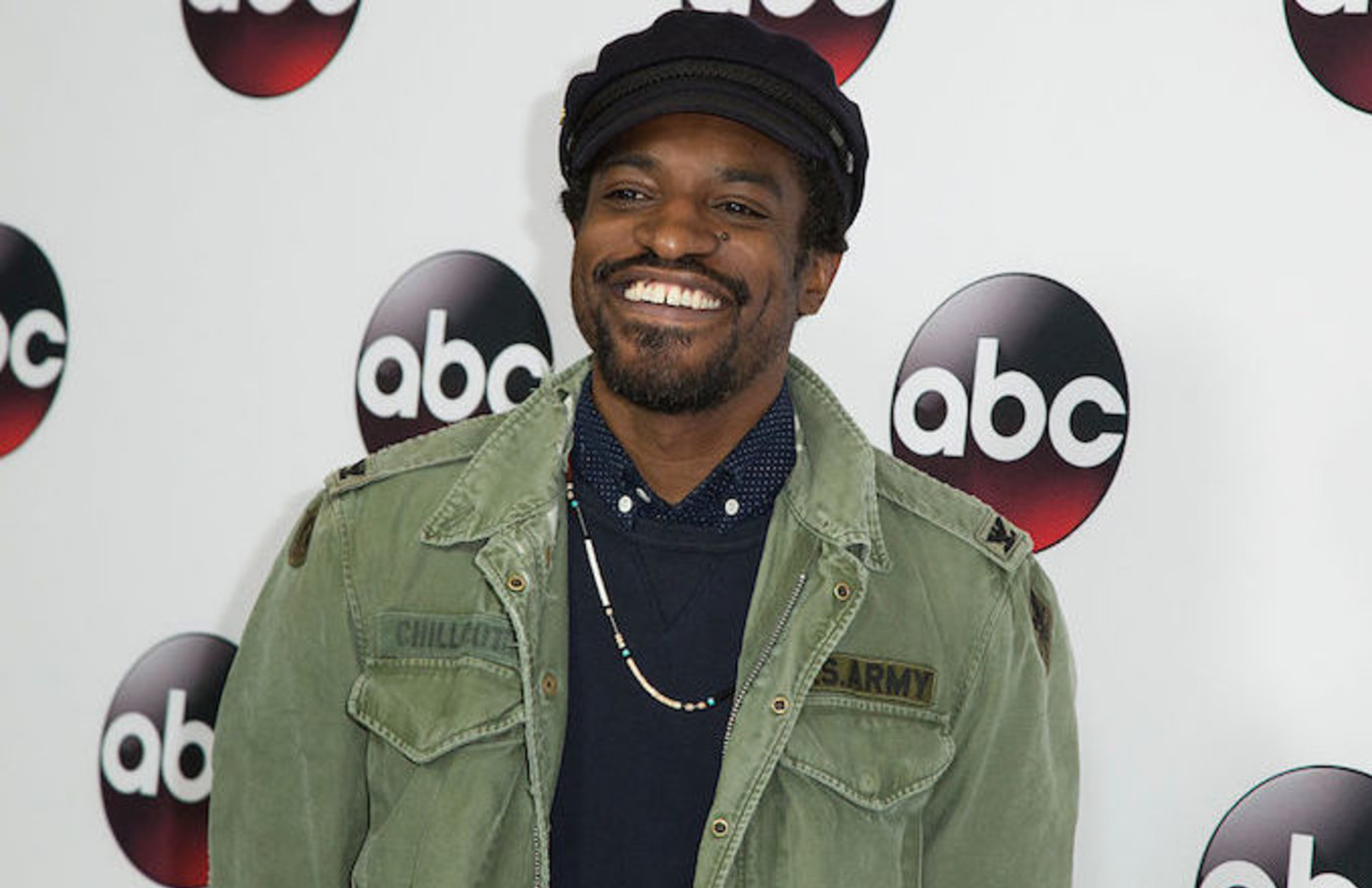 Andre 3000 smiling