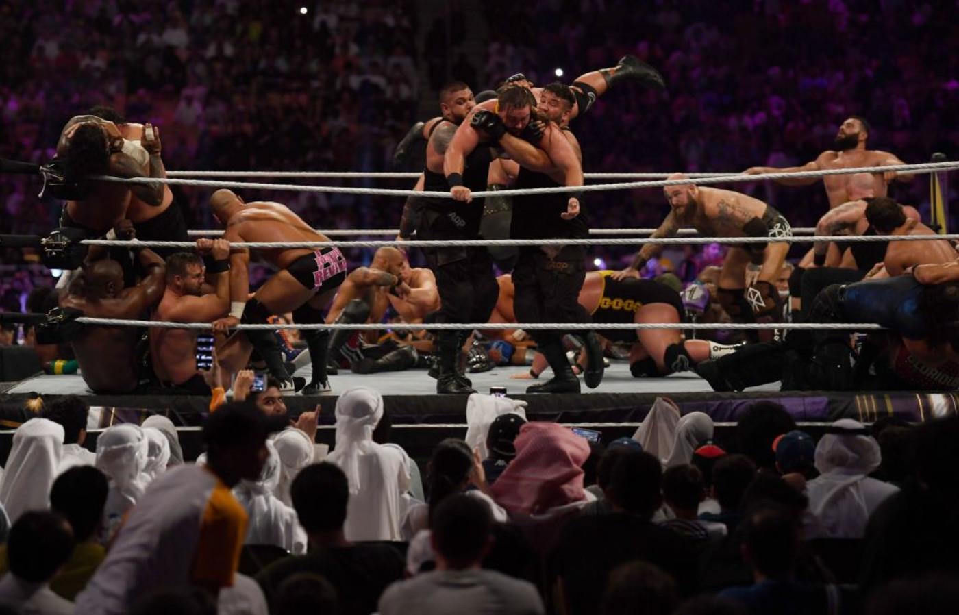 WWE Saudi Arabia Jan 2019 Super Showdown