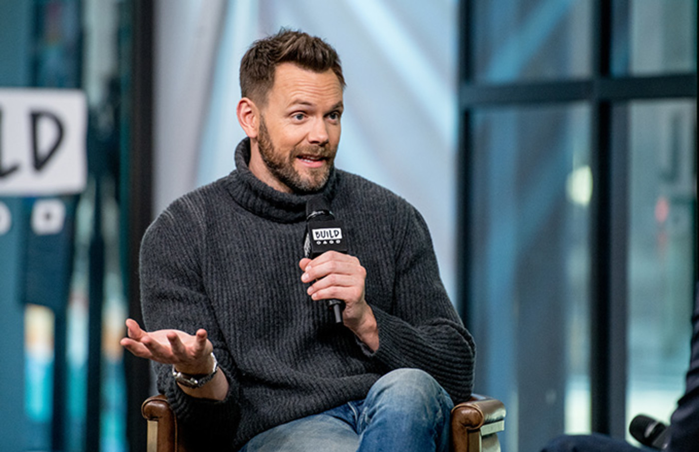 This is a photo of Joel McHale.
