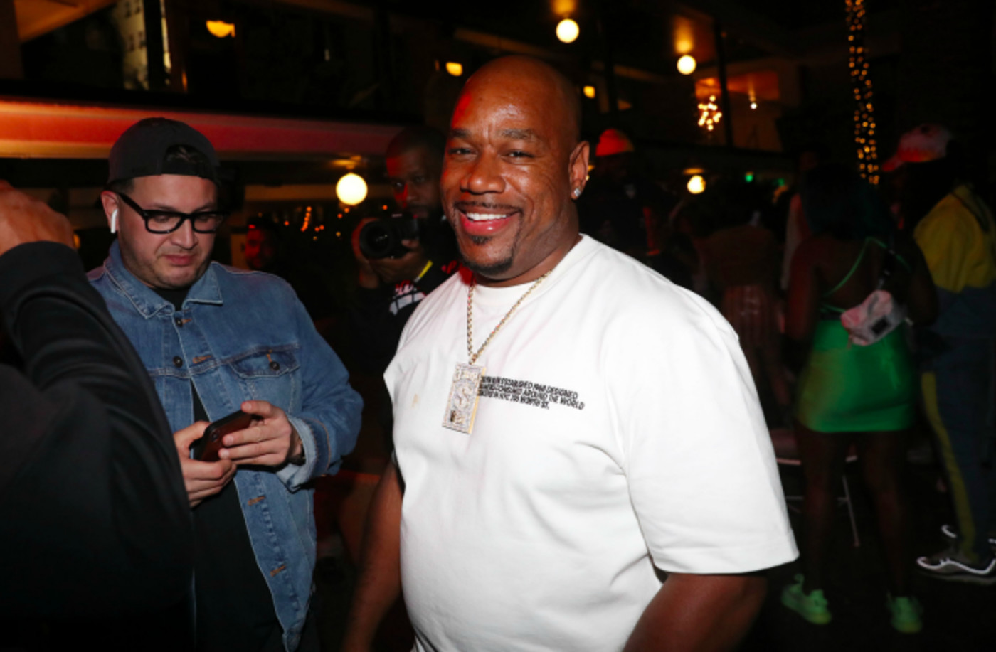 """Wack 100 attends Prolific Presents The Game """"Born To Rap"""" listening event"""