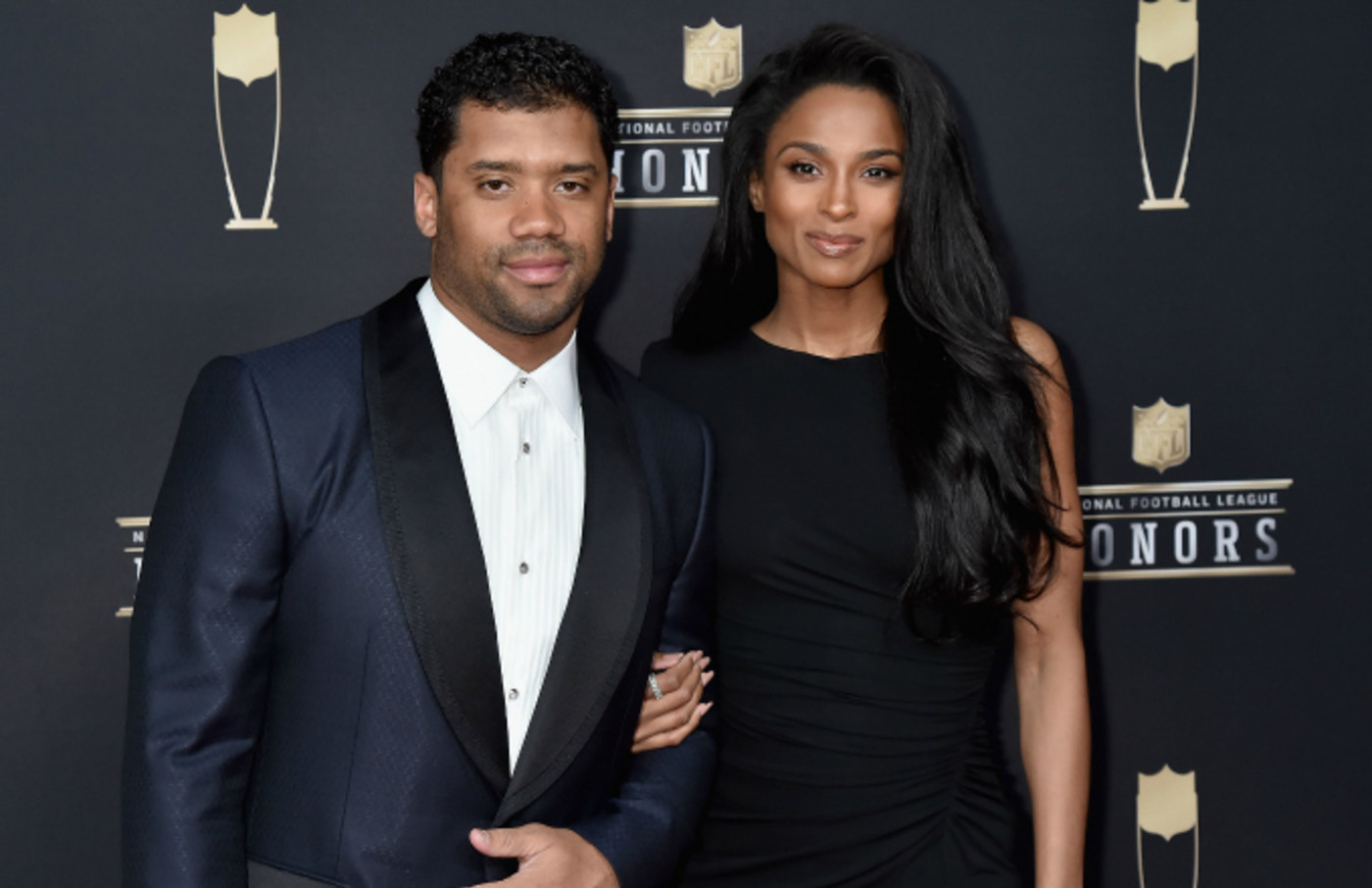 Ciara and Russell Wilson