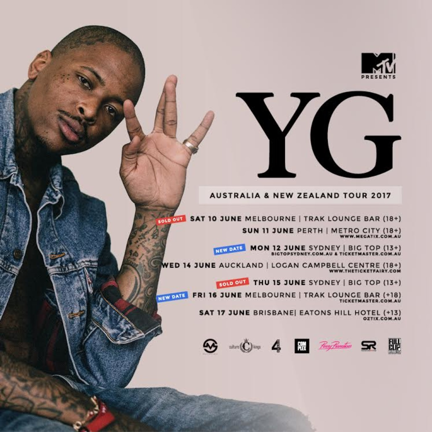 Yg Tickets Sydney