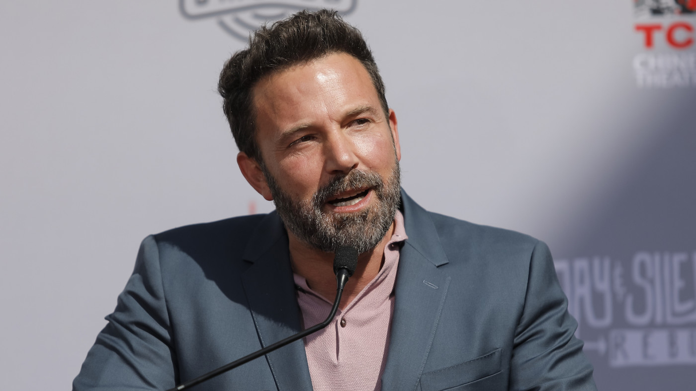 Ben Affleck attends the Kevin Smith and Jason Mewes's Hands and Footprint Ceremony.