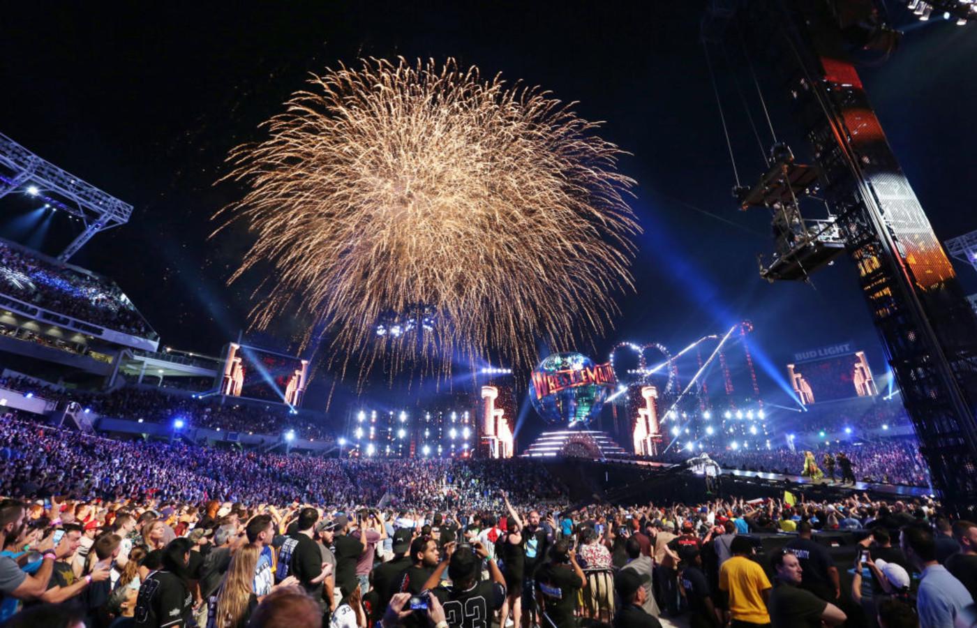 WrestleMania 33 Orlando 2017 Getty