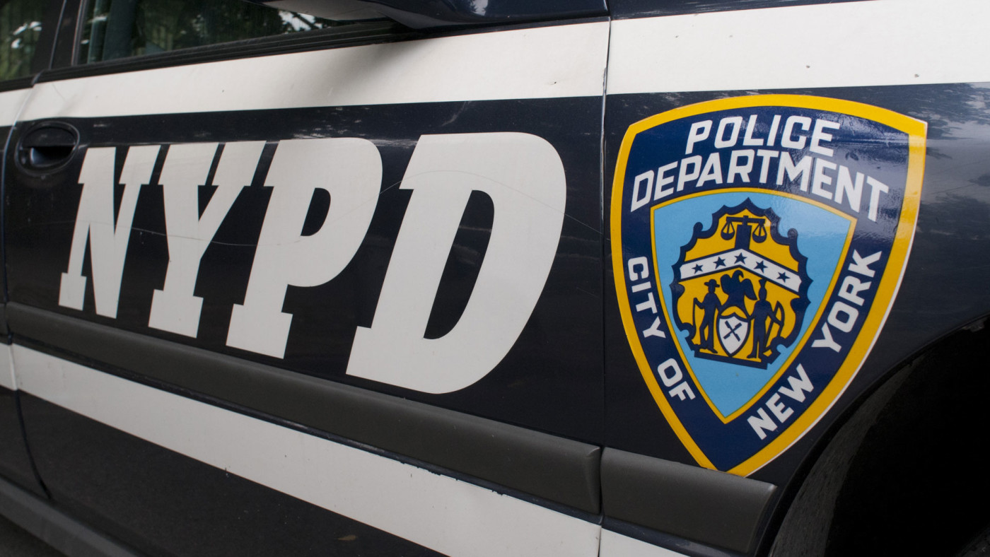 Logo from the New York Police Department