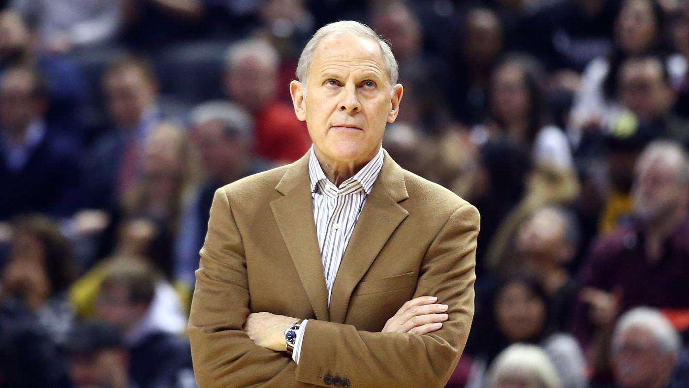 Head Coach John Beilein of the Cleveland Cavaliers