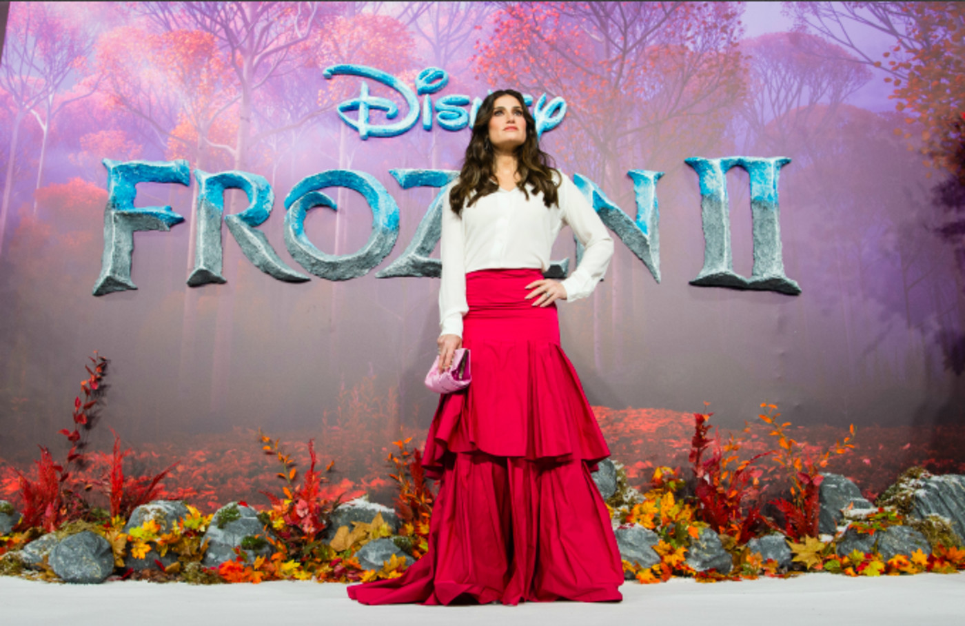 "Idina Menzel attends the ""Frozen 2"" European premiere"