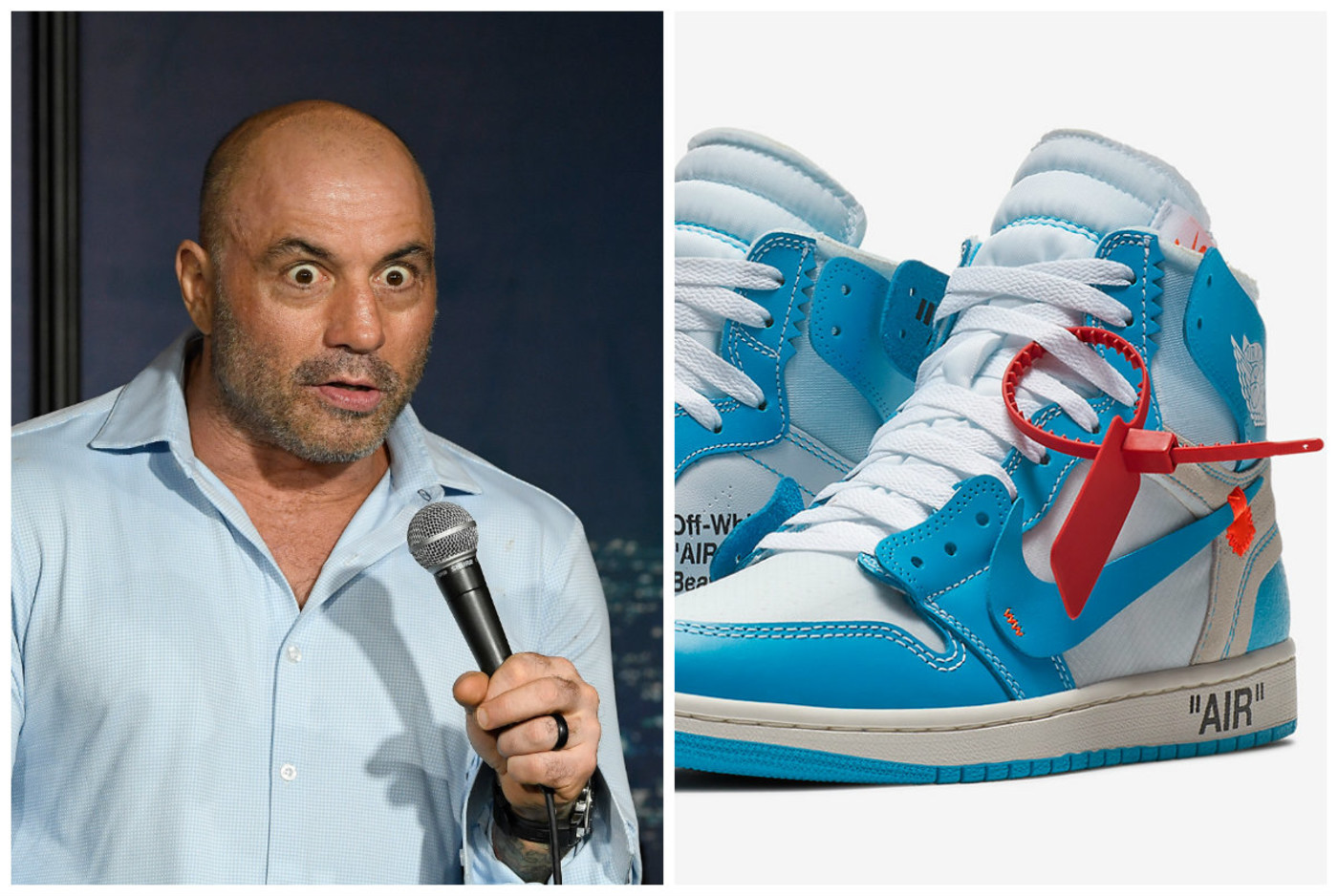 joe rogan off-white sneakers