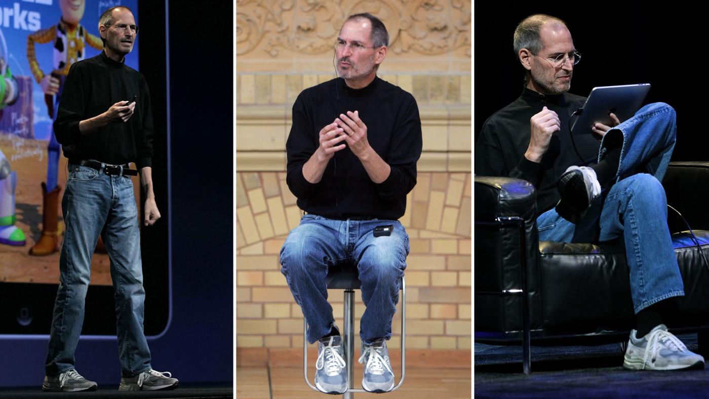 Steve Jobs Wearing New Balance 992s