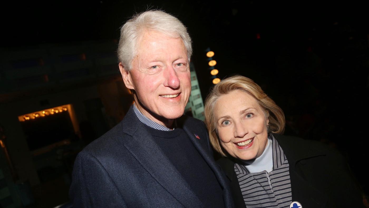 Bill and Hillary
